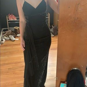 Black Sparkly Formal Dress